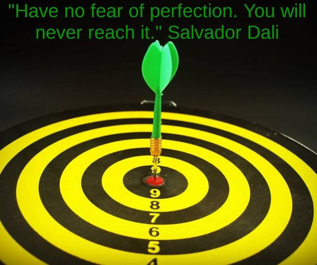 How to Move Past Perfectionism Paralysis to Reap Rewards